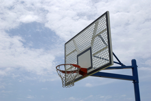 バスケットゴールの写真素材 [FYI00415248]