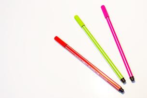カラフルなペンの写真素材 [FYI00415308]