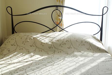 ベッドの写真素材 [FYI00415364]