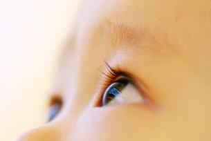 赤ちゃんの瞳の写真素材 [FYI00415394]