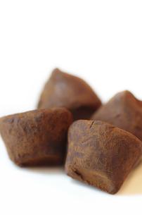 トリュフチョコレートの写真素材 [FYI00415535]