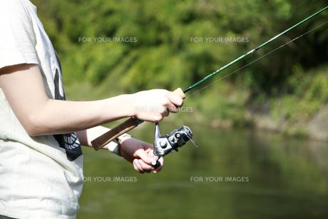 Fishingの写真素材 [FYI00415845]
