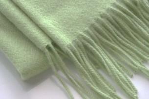 緑のマフラーの写真素材 [FYI00415879]