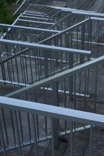 手すりと階段の写真素材 [FYI00415907]