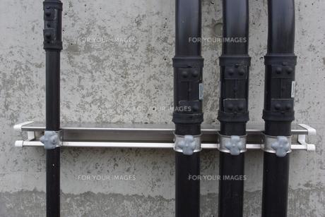 配管とコンクリートの写真素材 [FYI00415943]