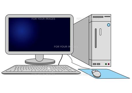 パソコンの写真素材 [FYI00415999]
