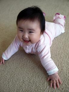 笑顔の赤ちゃんの写真素材 [FYI00416058]