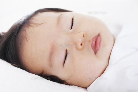 眠っている乳児の写真素材 [FYI00416101]