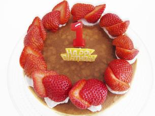 誕生日のケーキの写真素材 [FYI00416139]