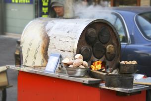韓国の屋台の写真素材 [FYI00416148]