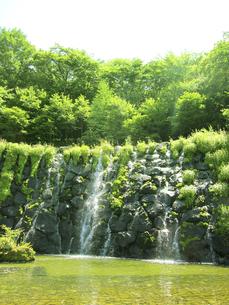 小さな滝の写真素材 [FYI00416150]