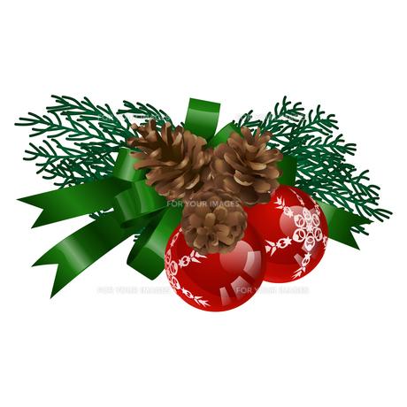 クリスマスの飾りの写真素材 [FYI00416216]