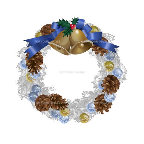 クリスマスリースの写真素材 [FYI00416221]