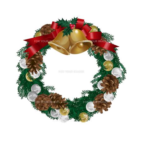 クリスマスリースの写真素材 [FYI00416237]