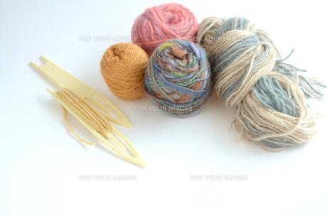 毛糸の写真素材 [FYI00416279]