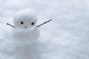 雪だるまの写真素材 [FYI00416446]