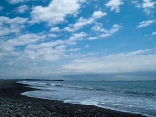 浜辺に寄せる波の写真素材 [FYI00416597]