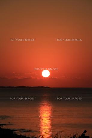 日の出の写真素材 [FYI00416752]