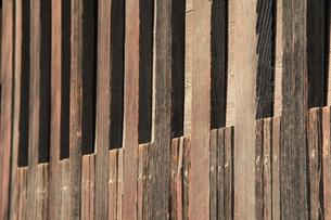 木の塀の写真素材 [FYI00416754]