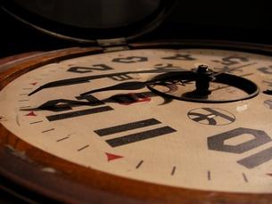 古時計の写真素材 [FYI00416804]