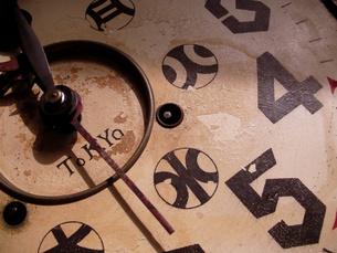 古時計の写真素材 [FYI00416809]