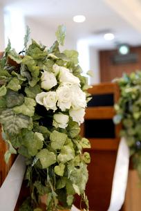 教会のブーケの写真素材 [FYI00416960]