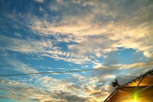 フィジーの夕景の写真素材 [FYI00416965]