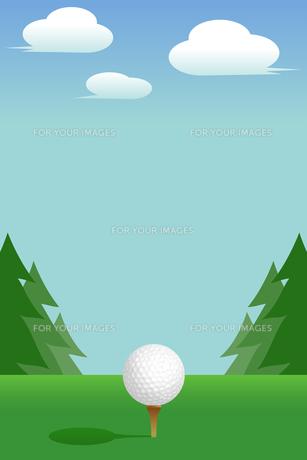 ゴルフ:Tee(Golf:Tee)の写真素材 [FYI00417035]