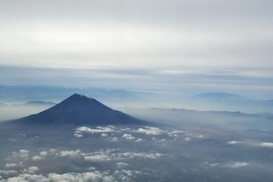 富士山空撮の素材 [FYI00417038]
