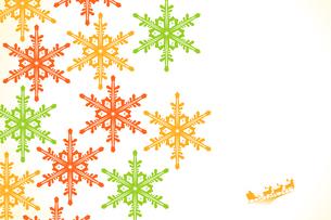 クリスマス 雪の写真素材 [FYI00417065]