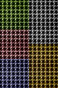 メタル: メッシュ (Metal: Colored Mesh)の写真素材 [FYI00417074]