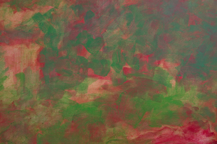 Painting Abstract Green and Red の写真素材 [FYI00417101]