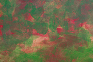Painting Abstract Green and Red の写真素材 [FYI00417105]