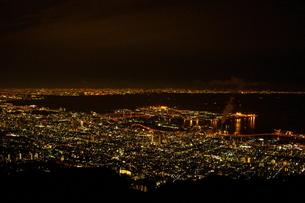 神戸の夜景の写真素材 [FYI00417726]