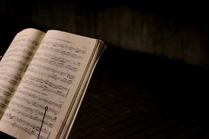 オケの楽譜の写真素材 [FYI00417957]