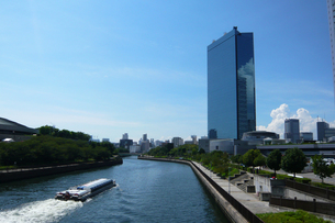 大阪ビジネスパークの写真素材 [FYI00418052]