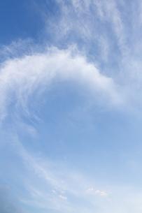 雲のリングの写真素材 [FYI00418116]