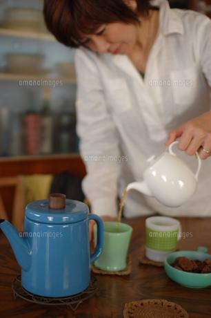 お家カフェの写真素材 [FYI00418398]