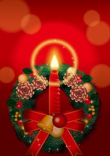クリスマスリースの写真素材 [FYI00418575]