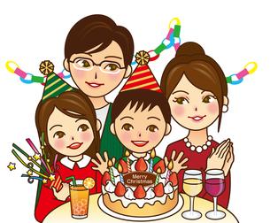 クリスマスパーティーの素材 [FYI00418585]