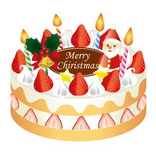 クリスマスケーキの写真素材 [FYI00418590]