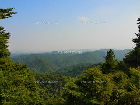 高尾山からの眺めの写真素材 [FYI00418609]