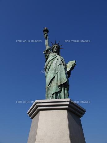 自由の女神の写真素材 [FYI00418699]
