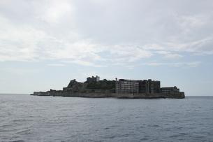 軍艦島の写真素材 [FYI00418914]