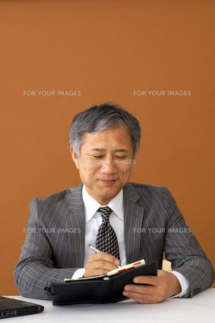 ビジネスマンのポートレートの写真素材 [FYI00419163]