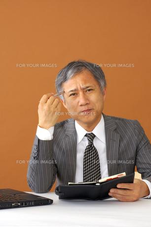 ビジネスマンのポートレートの写真素材 [FYI00419164]