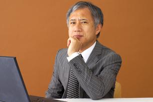 ビジネスマンのポートレートの写真素材 [FYI00419168]