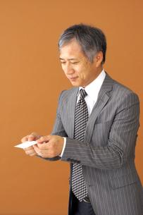 ビジネスマンのポートレートの写真素材 [FYI00419171]