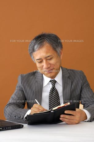 ビジネスマンのポートレートの写真素材 [FYI00419174]
