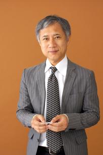 ビジネスマンのポートレートの写真素材 [FYI00419178]